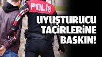 Polis 18 kişiyi gözaltına aldı....
