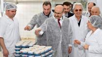 Vali Demirtaş, Üretim Tesislerini İnceledi...