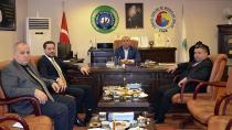 CTB Başkanı Aydar İşadamı Şirin'i Kabul Etti…