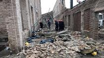 Adana'da müze restorasyonunda duvar çöktü! Ölü ve yaralılar var!