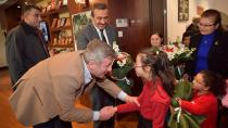 Soner Çetin, engelsiz şampiyonları Metin Şentürk ile buluşturdu