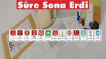 Aday Listeleri Seçim Kurullarına Teslim Edildi