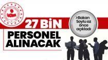 Jandarmaya 27 bin 180 personel alınacak!