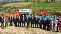 Hükümlülerden 'Adalet Ormanı'na 3 bin fidan