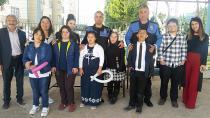 Polisler Özel Çocukları Ziyaret Etti.