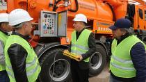 ASKİ'nin Yeni Kombine Kanal Temizleme Araçları Sahaya İndi