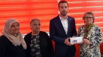 Başkan Aydar, İlk Maaşı Şehit ve Gazi Ailelerine Bağışladı