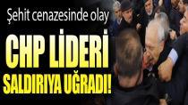 Kılıçdaroğlu'na şehit cenazesinde linç girişimi...