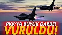 PKK'ya bomba yağdı, Kandil yerle bir edildi! Şehitlerin kanları yerde kalmadı