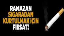 'Ramazan ayı, sigara bağımlılığından kurtulmak için fırsat'