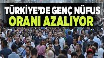 Türkiye'de genç nüfus oranı azalıyor!