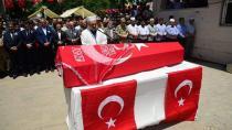 Kalp Krizi Sonucu Şehit Olan Asker Adana'da Toprağa Verildi