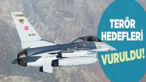 Irak'ın kuzeyinde PKK hedefleri vuruldu!