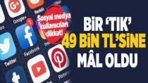 Sosyal medya kullanıcıları dikkat! Bir 'Tık'la 49 bin TL'sinden oldu