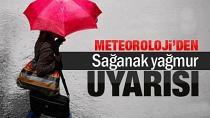 Adana'da sağanak yağış etkili oldu!