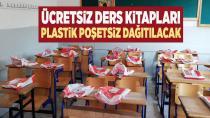 Ücretsiz ders kitapları plastik poşetsiz dağıtılacak