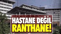 Adana şehir hastanesi zarar ediyor!