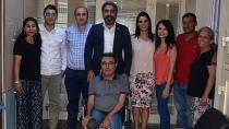 Av Küçük, Belediyelerde görev yapan meslektaşlarını unutmadı