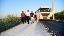 Başkan Karalar, asfaltlama çalışmalarını inceledi
