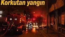 Adana'da tarihi evde yangın