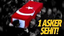 Acı haber geldi: 1 askerimiz şehit, 3 askerimiz yaralandı