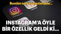 Instagram da yeni özellik