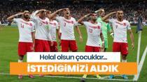 Türk futbolcularının Fransa maçında asker selamı vermesi Fransızları çıldırttı