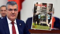 Barut, TBMM Başkanı Şentop'a Meclis Haber Dergisi'ni sordu