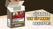 Sigarada tek tip paket uygulamasına 5 Aralık'ta geçiliyor