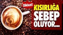 Kafeinin fazlası doğurganlığa zararlı!