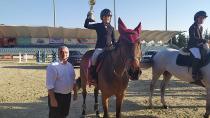 Atlar 'TSYD Atatürk'ü Anma Kupası' için yarıştı