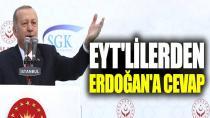EYT'lilerden Tayyip Erdoğan'a yanıt!