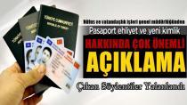 Kimlik kartı, pasaport ve sürücü belgeleri duyurusu
