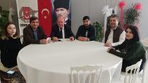 Pir Sultan Abdal Kültür Derneği'nden ÇGC'ye ziyaret