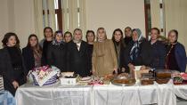 Bayan Demirtaş, üreten kadınlara destek verdi...