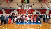 Okullar arası basketbol müsabakaları keyif verdi...