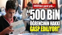 500 bin öğrencinin örgün eğitimden yararlanma hakkının gasbı