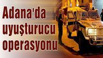 Adana merkezli 4 ilde uyuşturucu operasyonu: 18 gözaltı