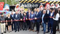 Başkanlar 'Balkon Park'ta buluştu!