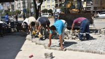 Ceyhan Belediyesi parke taşından 1.5 milyon lira tasarruf etti...