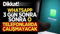 WhatsApp kullanıcıları 1 Şubat'a dikkat!