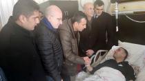CHP' Heyeti Çığ Bölgesinde İncelemelerde Bulundu