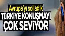 Türkiye konuşması çok seviyor!