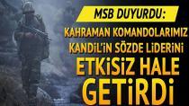 7 PKK/YPG'li terörist öldürüldü!