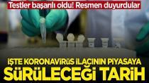 Testler başarılı oldu: Koronavirüs ilacı 7-10 gün içinde piyasaya sürülecek