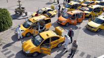 Çukurova'da taksiler dezenfekte edildi...