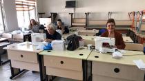 Karataş Belediyesi Maske üretimine başladı...