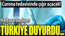 İyileşmiş hastanın kanıyla corona virüs tedavisi Türkiye'de başlıyor!