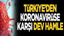 Türkiye'den koronavirüse karşı dev hamle