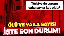 Türkiye'de koronavirüsten ölenlerin sayısı 356'ya yükseldi...